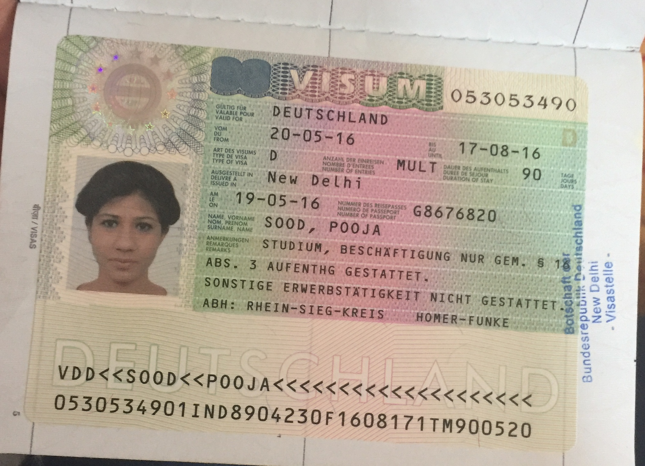 For Quality German Best Sale Visa Or Online