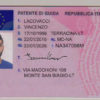 Italy Driver's License
