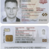 Latvia ID Card