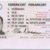 Norwegian driver's license