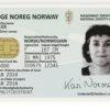 Norwegian identity card